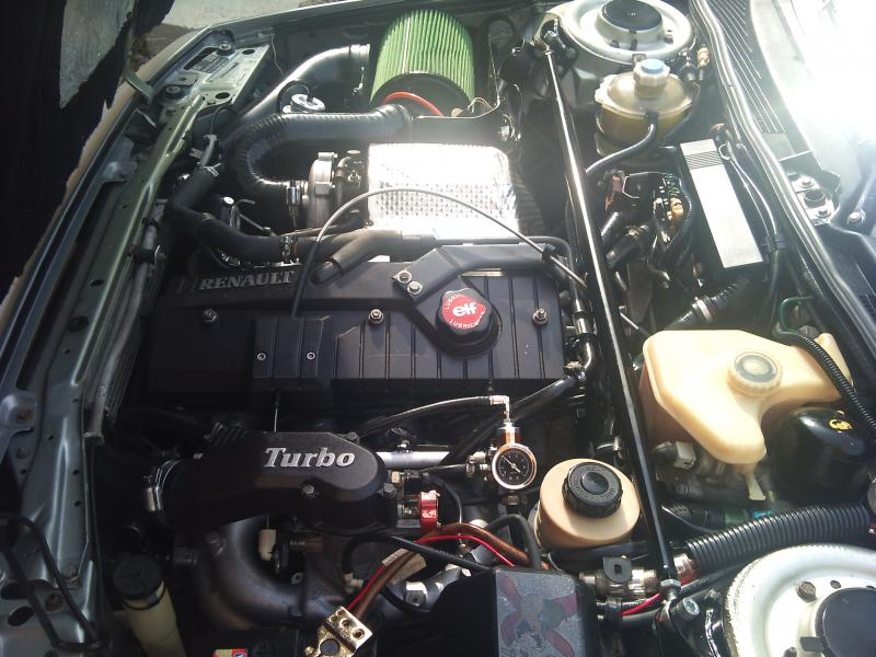 Troc Echange Renault 21 2L Turbo Quadra Sur