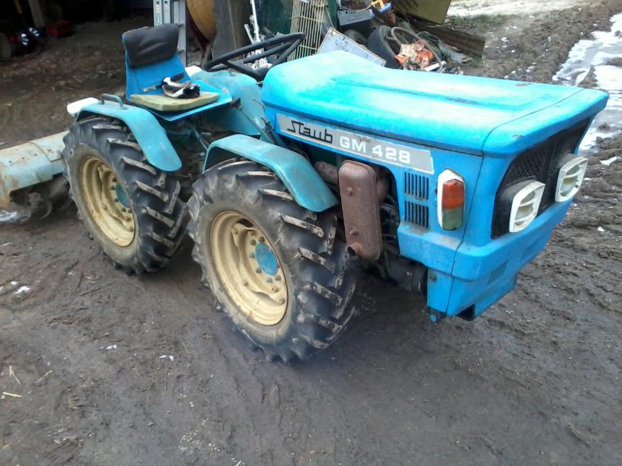Troc Echange Micro Tracteur Articul Staub Gm428 4x4 Sur