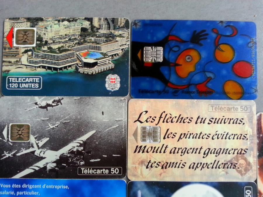 Troc Echange Lot De 9 Cartes Telephonique 1 De Monaco