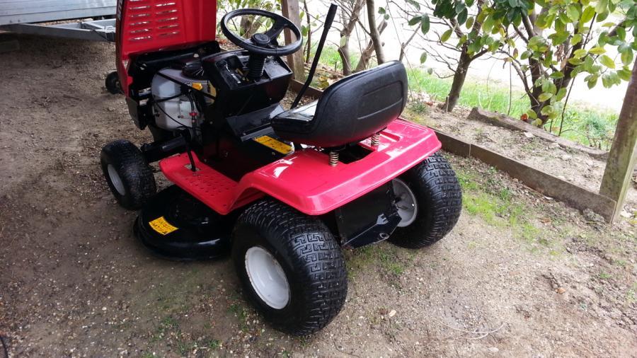 Troc Echange Tracteur Tondeuse Autoporte MTD 20 Cv Sur