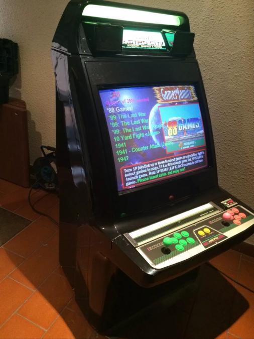 Troc Echange Borne Arcade Sega New Astro City Black