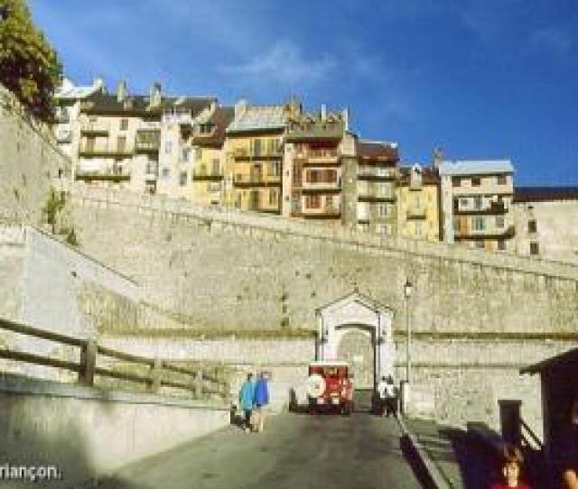 View Of The Ramparts Of Briancon