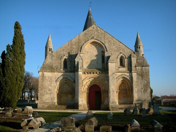 Lglise DAulnay De Saintonge Guide Tourisme Amp Vacances