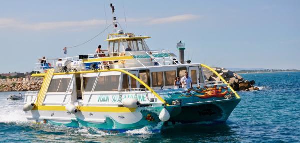 Promenade En Mer Avec Vision Sous Marine Activit De