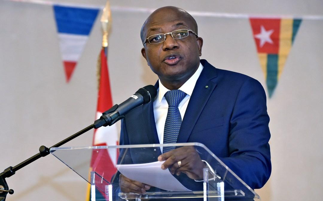 Réception à l'occasion du 59ème Anniversaire de l'Indépendance du Togo