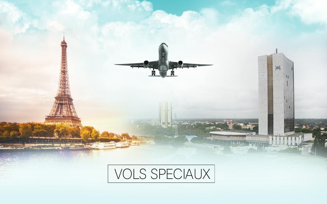 VOLS SPÉCIAUX DE RAPATRIEMENT