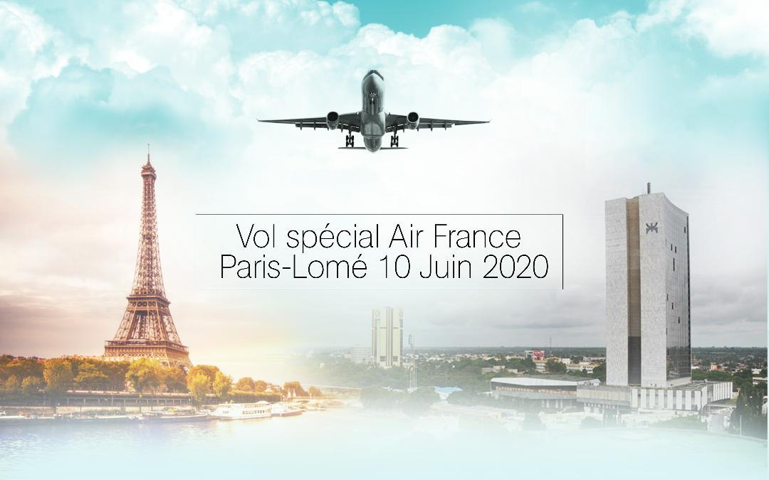 DEUXIEME VOL SPECIAL DE RAPATRIEMENT LE 10 JUIN 2020