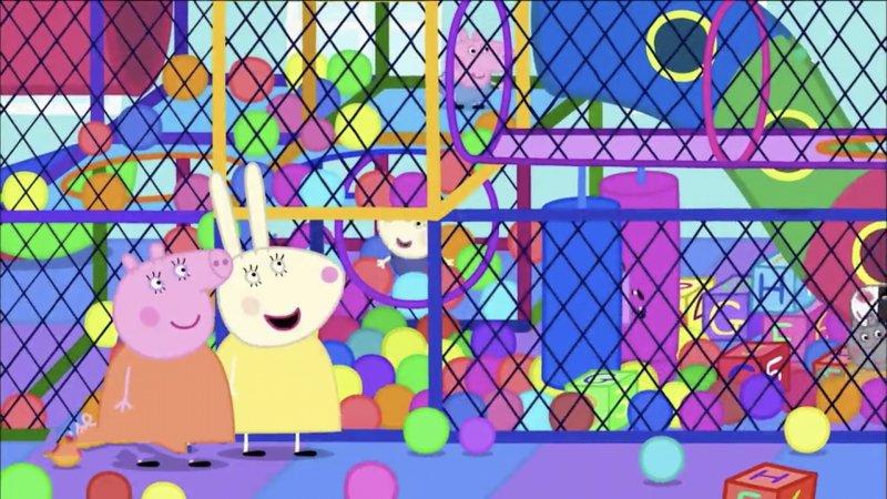 peppa pig les jeux gonflables