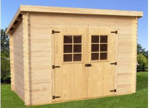 abri jardin bois abri en bois brut ou
