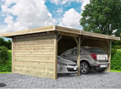 carport 2 voitures espace rangement