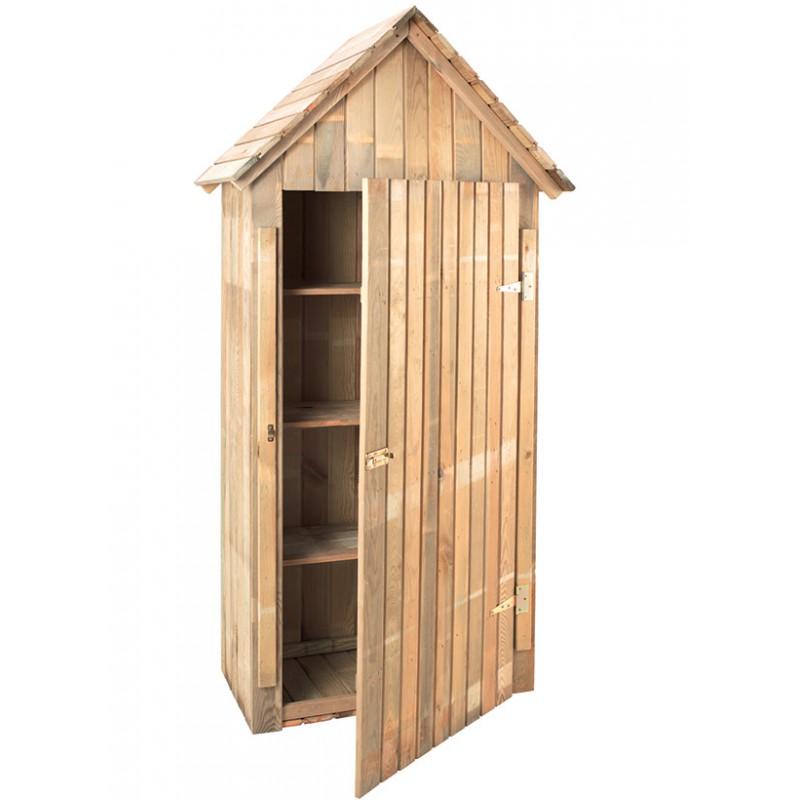 abri rangement en bois traite pas cher