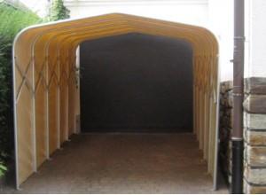 GARAGE VOITURE PVC PLIANT Un Abri Repliable Pour