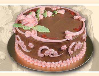 Gâteau personnalisé au chocolat