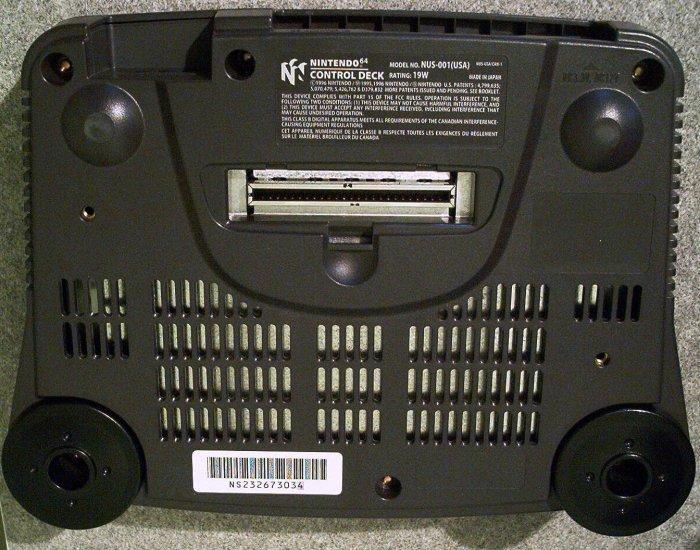 N64 bottom