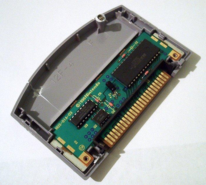 N64 cartridge chip side wo heatsink
