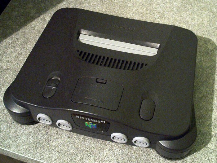 N64 front