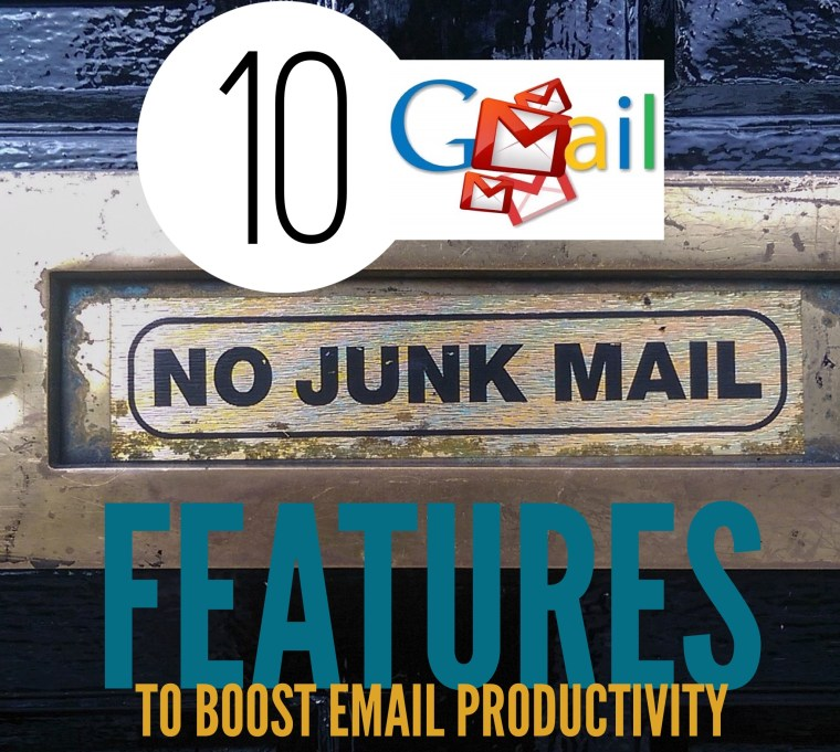 Google Mail Productivity Tips 2016