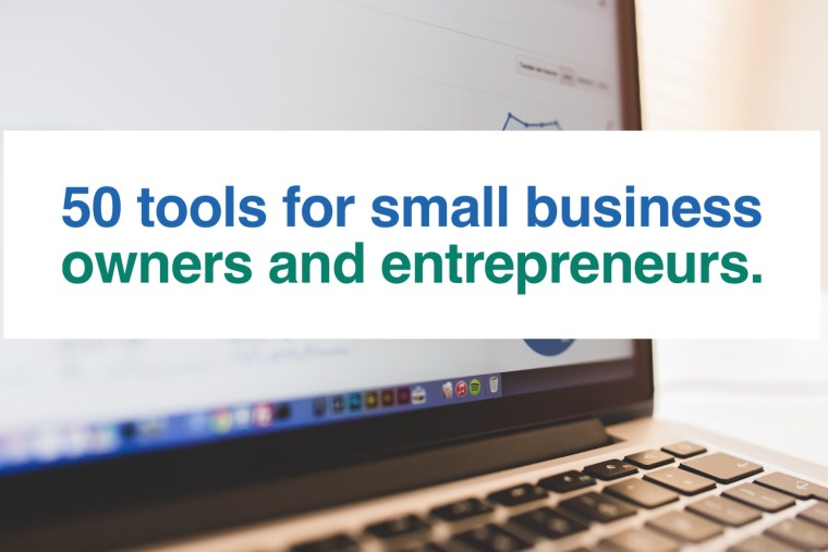 50 web tools for business owners