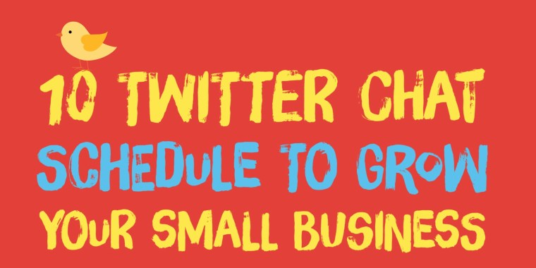 10 Twitter chat Schedule Small Business