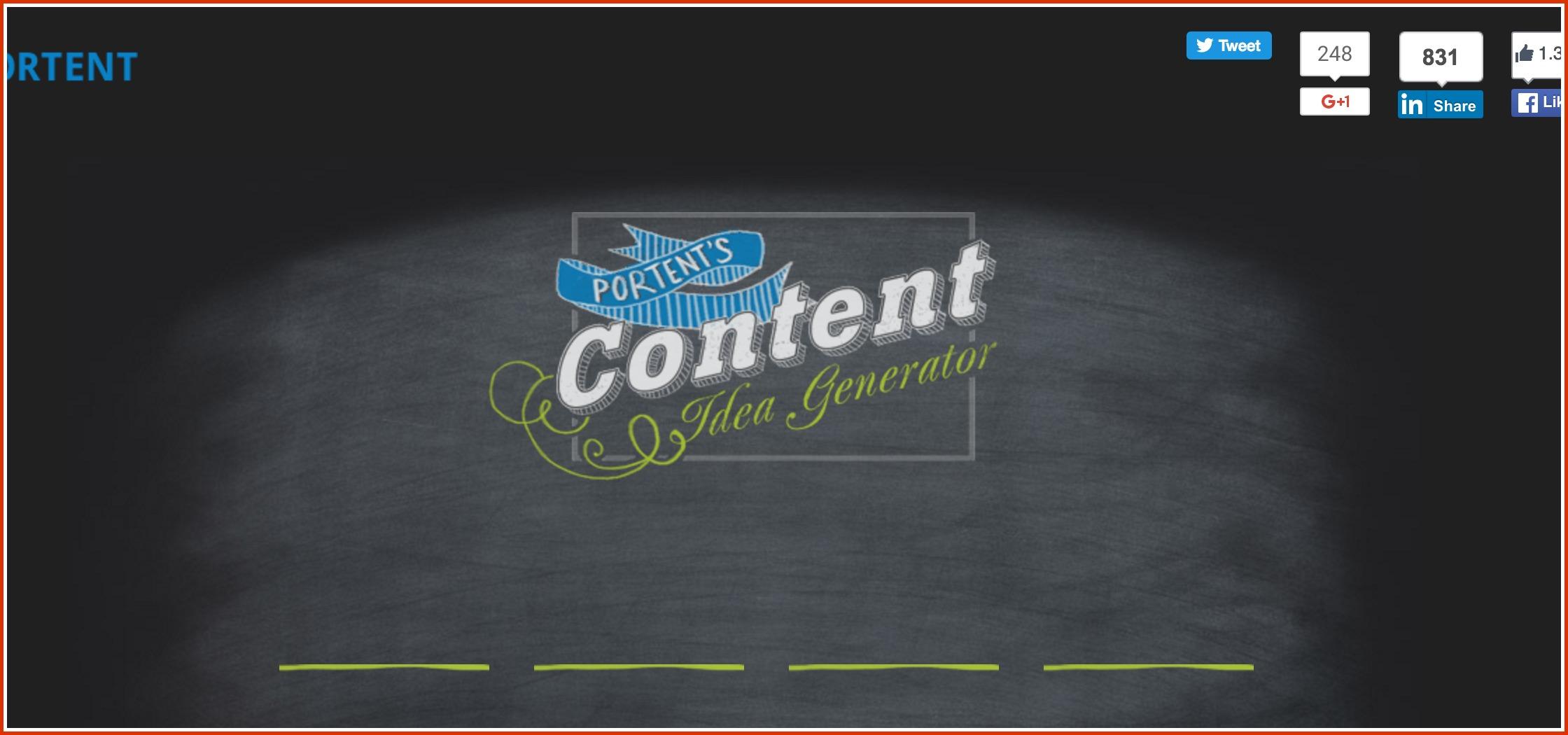 10 Amazing Free Tools to Kickstart your Content Marketing