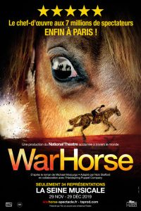 War Horse - Le Spectacle évènement Arrive à Paris -