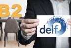 DELF B2 Présentation