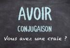 AVOIR conjugaison