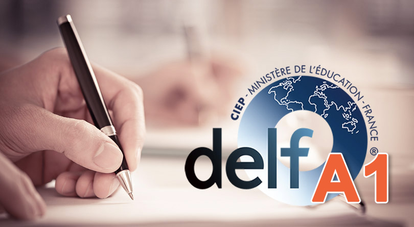 DELF A1 - production écrite