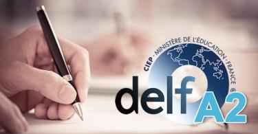 DELF A2 - production écrite