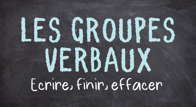 Les groupes verbaux