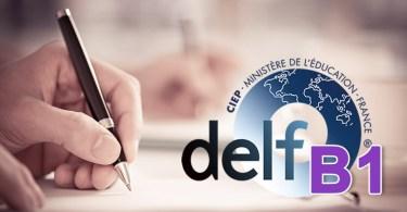 DELF B1 - production écrite
