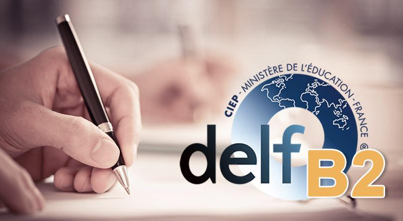 DELF B2 Production écrite