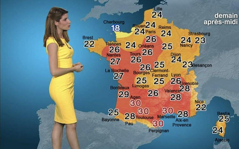 Carte 4 - températures