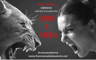 """Tenda Rossa Genova """"Donne e Rabbia"""" – 18 giugno 2019"""
