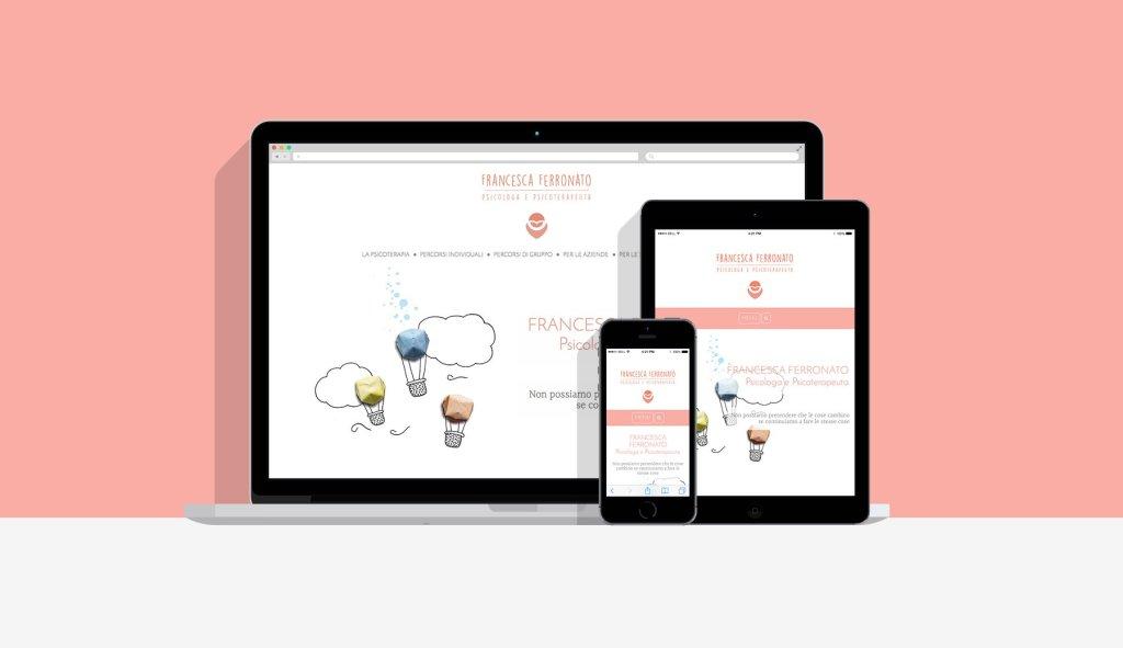 Showcase - Francesca Ferronato sito web