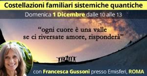 Costellazioni familiari Sistemiche Quantiche Roma @ Associazione Emisferi