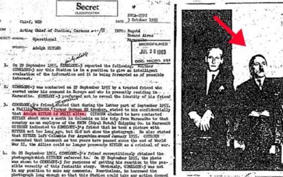 Ansa: «File Cia desecretato, Hitler dopo la guerra vivo in Sudamerica»