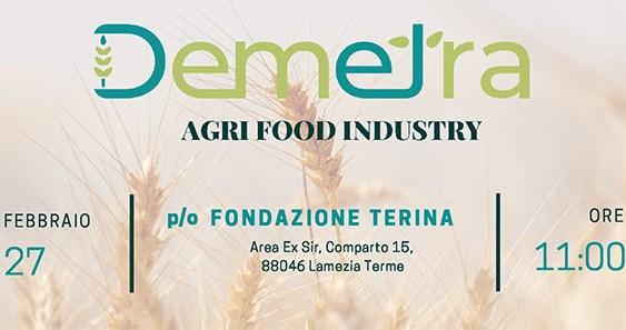 Lamezia Terme, il 27 febbraio l'evento 'Progetto Demetra – Agri Food Industry'