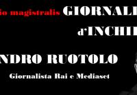 Cosenza, Sandro Ruotolo chiude i laboratori di giornalismo di 'Giornalisti d'Azione'