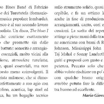 Francesco Garolfi Chitarre The Blues I Feel