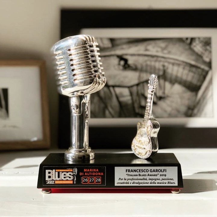 Francesco Garolfi Italian Blues Award 2019