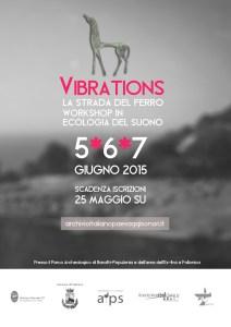 locandina vibrations workshop follonica