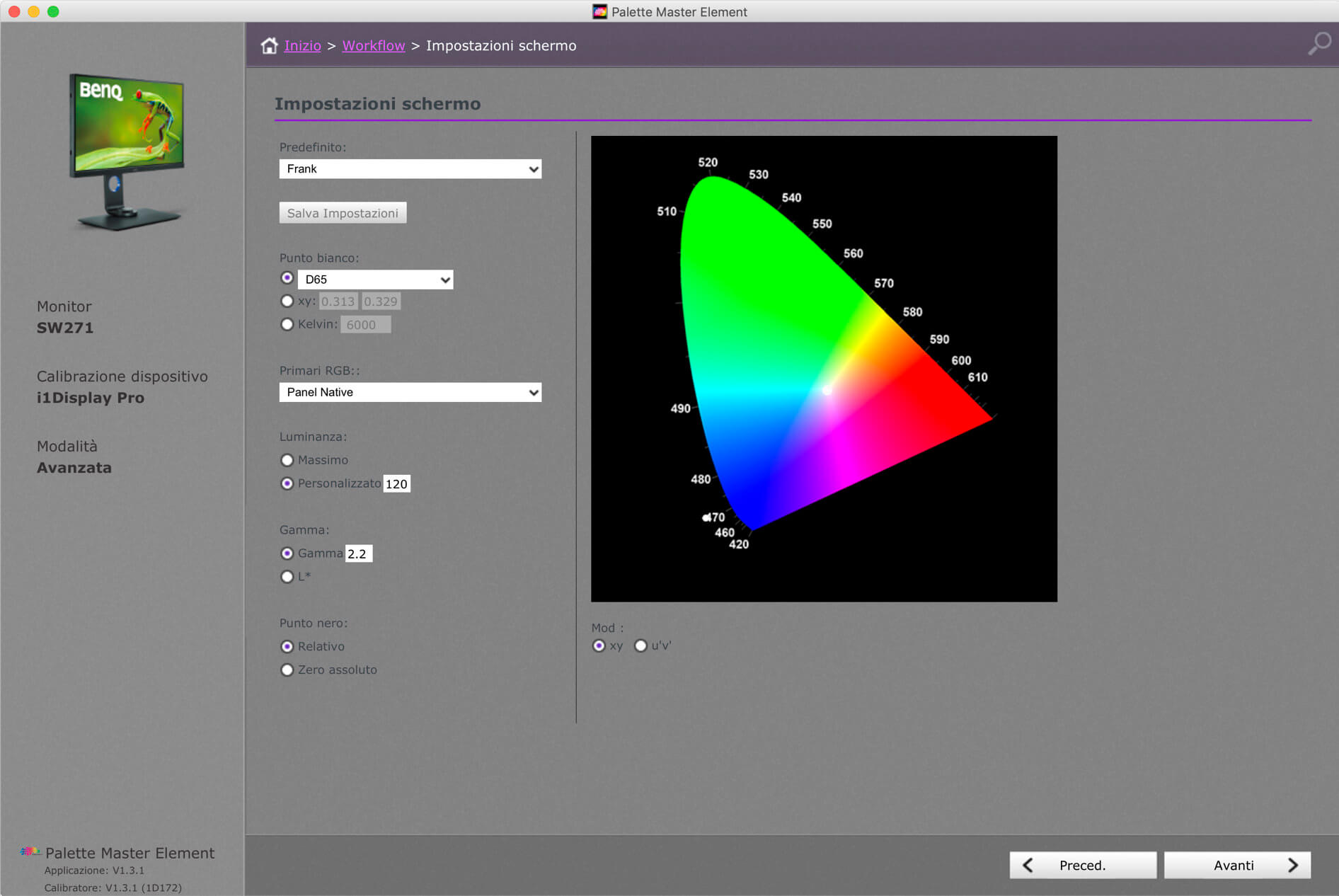 Monitor Calibration With Benq Palette Master Element