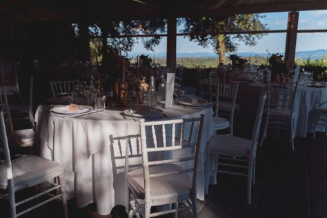 The tables | Villa la palagina resort