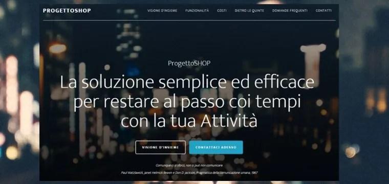 Progetto Shop