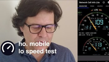 ho mobile speedtest
