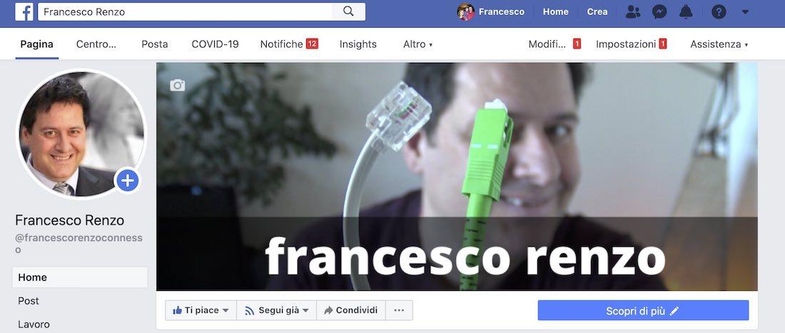 facebook francesco renzo