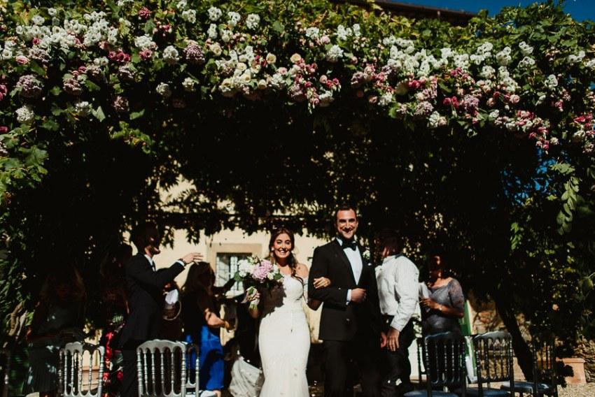 get married in Cortona Villa buffer apetizer aperitif