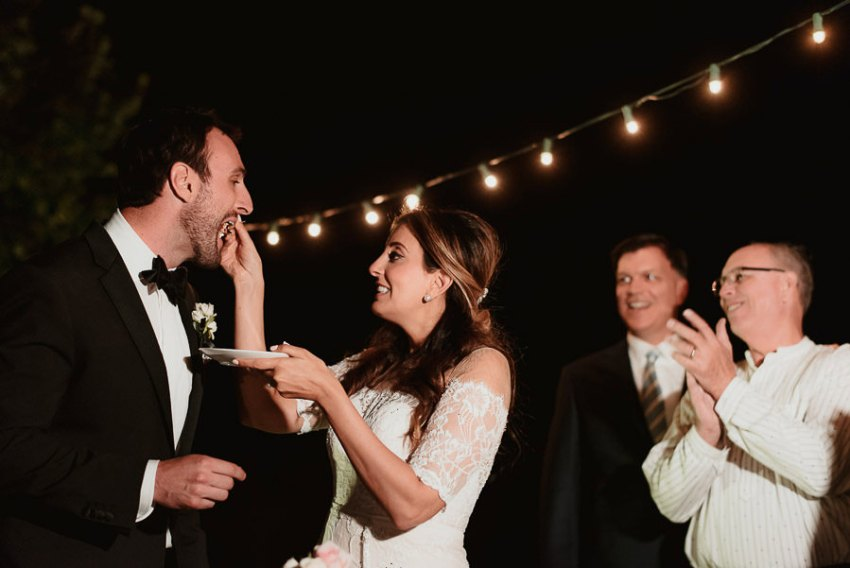 get married in Cortona Villa dance party pool