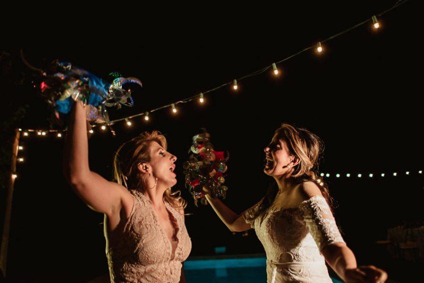 Villa wedding cortona dance party pool